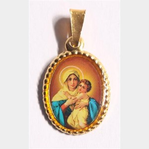 Medalha foto de Consagração a Nossa Senhora - Mãe Rainha