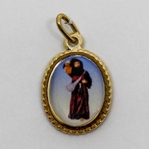 Medalha foto de São Longuinho (pacote com 100 medalhas)
