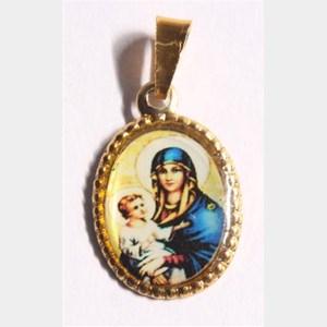 Medalha foto de Nossa Senhora da Saúde