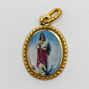 Medalha foto de Santa Filomena (pacote com 100 medalhas)