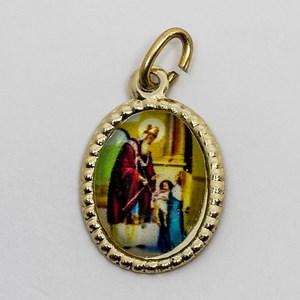 Medalha foto de São Brás (pacote com 100 medalhas)