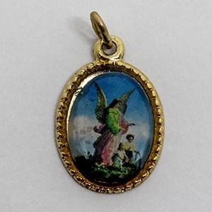 Medalha foto de Anjo da Guarda (pacote com 100 medalhas)