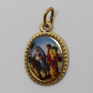 Medalha foto de Nossa Senhora do Desterro (pacote com 100 medalhas)