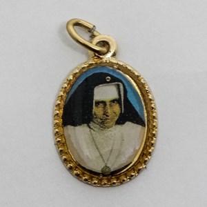 Medalha foto da Santa Dulce dos Pobres (pacote com 100 medalhas)