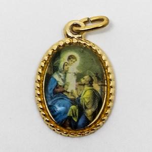 Medalha foto da Sagrada Família (pacote com 100 medalhas)