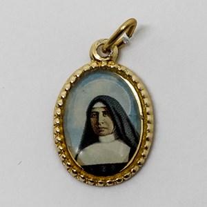 Medalha foto de Santa Paulina (pacote com 100 medalhas)