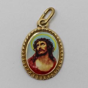Medalha foto de Chagas do Ombro de Jesus (pacote com 100 medalhas)