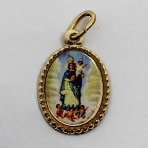 Medalha foto de Nossa Senhora da Cabeça (pacote com 100 medalhas)