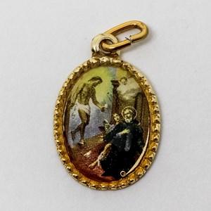 Medalha foto de São Peregrino (pacote com 100 medalhas)