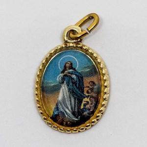 Medalha foto de Nossa Senhora da Imaculada Conceição (pacote com 100 medalhas)