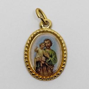 Medalha foto de São José (pacote com 100 medalhas)