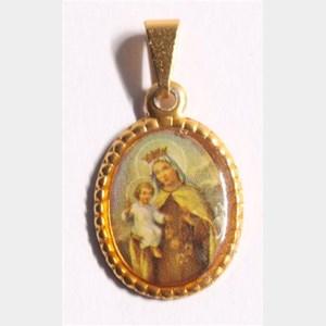 Medalha foto de Nossa Senhora do Carmo