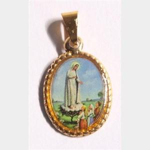 Medalha foto de Nossa Senhora de Fátima