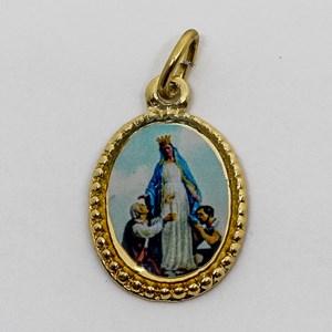 Medalha foto de Nossa Senhora do Trabalho (pacote com 100 medalhas)