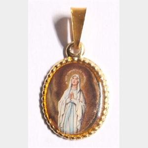 Medalha foto de Nossa Senhora de Lourdes