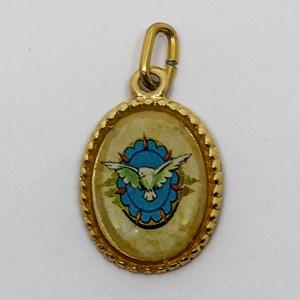 Medalha foto de Divino Espírito Santo (pacote com 100 medalhas)