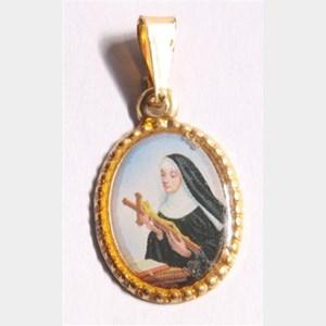 Medalha foto de Santa Rita