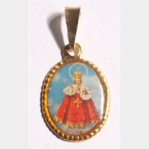 Medalha foto de Menino Jesus de Praga