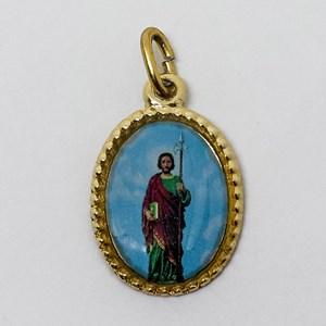 Medalha foto de São Judas (pacote com 100 medalhas)