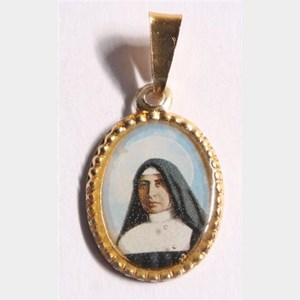 Medalha foto de Santa Paulina