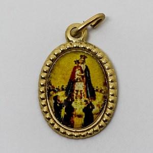 Medalha foto de Nossa Senhora do Bom Parto (pacote com 100 medalhas)