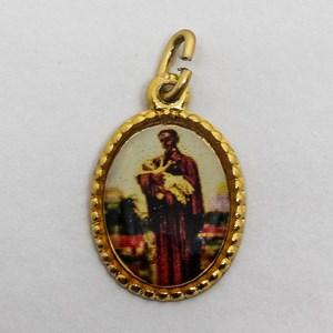 Medalha foto de São Benedito (pacote com 100 medalhas)