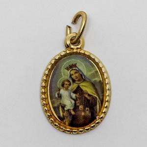 Medalha foto de Nossa Senhora do Carmo (pacote com 100 medalhas)