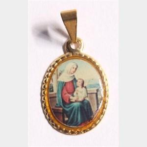 Medalha foto de Nossa Senhora Santana