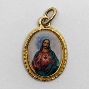 Medalha foto do Sagrado Coração de Jesus (pacote com 100 medalhas)