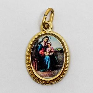 Medalha foto de Nossa Senhora Santana (pacote com 100 medalhas)