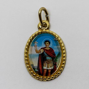 Medalha foto de Santo Expedito (pacote com 100 medalhas)