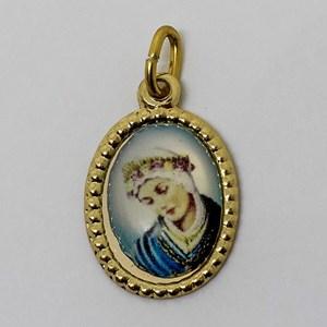 Medalha foto de Nossa Senhora da Salete (pacote com 100 medalhas)