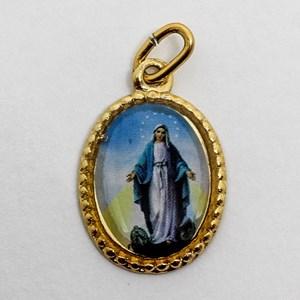 Medalha foto de Nossa Senhora das Graças (pacote com 100 medalhas)