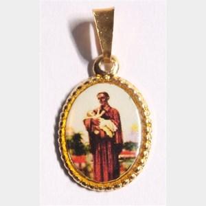 Medalha foto de São Benedito
