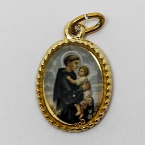Medalha foto de Santo Antonio (pacote com 100 medalhas)