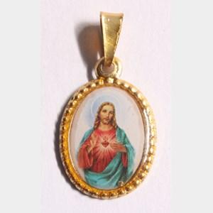 Medalha foto do Sagrado Coração de Jesus