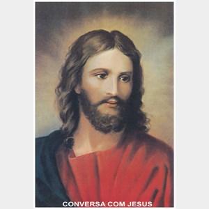 Oração conversa com Jesus
